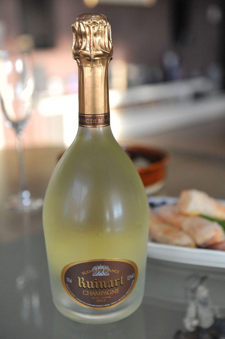 Ruinart Blanc de Blanc champagne