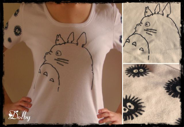 100 DIY Tutorials: Totoro T-shirt