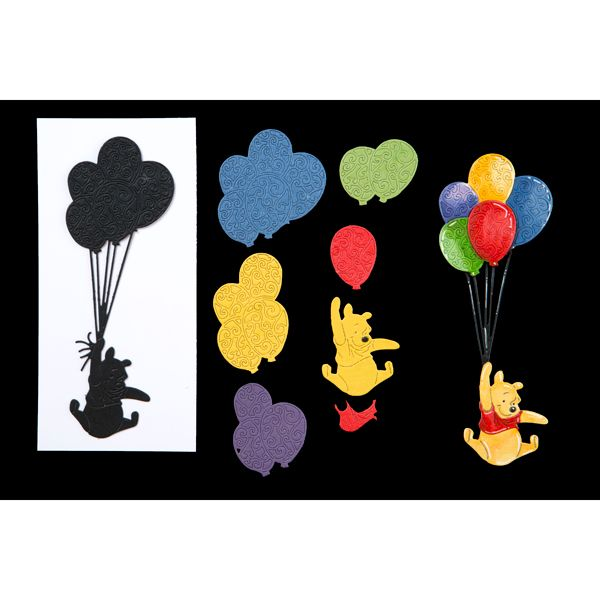 Disney Winnie The Pooh Up, Up and Away! Die (389785) | Create and Craft