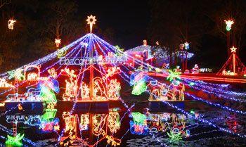 Christmas light decoration ideas -
