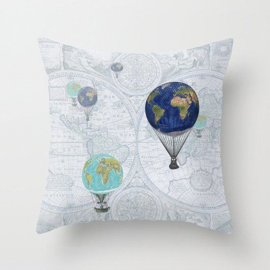263 best Other Map Products images on Pinterest I want, World maps - best of world map fabric etsy