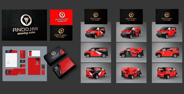 Diseño de identidad corporativa. Empresa de rotulación y wrapping de vehículos. Eugenia Parra. http://eugeniaparra.es