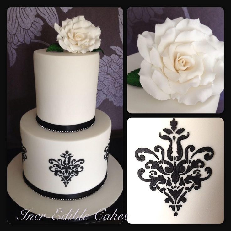 black and ivory wedding cake ideas 75 best images about wedding cakes on 11817