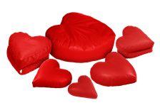 Καρδιά#Πουφ Poofomania #bean bag#pouf#poof#indoor#design#