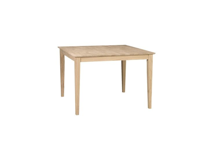 42x42 Dining Table - Lam Brother's Unfinished Furniture