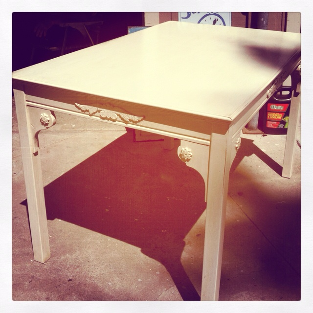 Originally an ikea table from the jokkmokk set of table for Ikea table 9 99