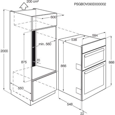 wall mounted oven dimensions google search details