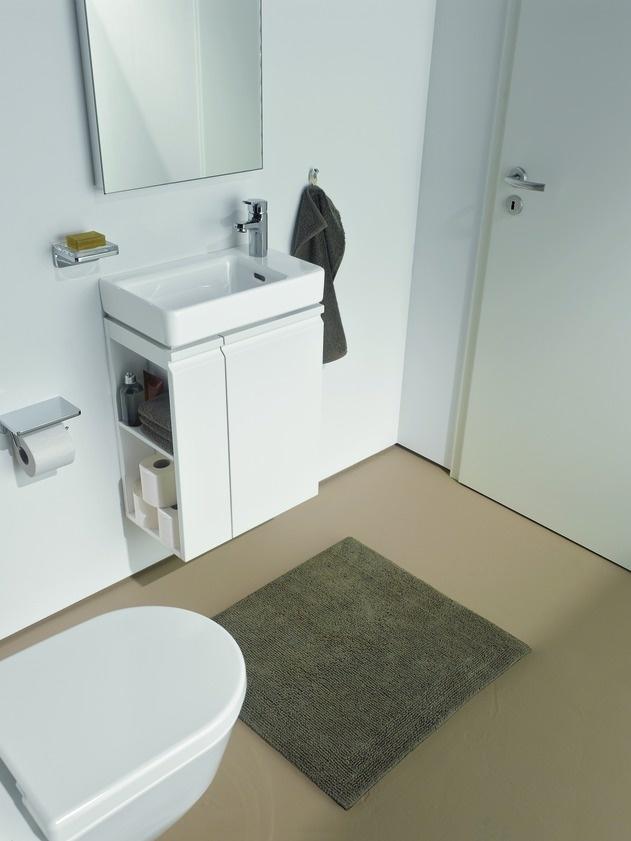 Small bathrooms. Laufen Pro. www.laufen.com