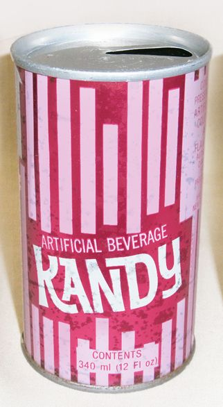 Kandy Soft Drink Can