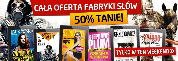 Świetna oferta #promocja #ebook z #fabrykaslow http://upolujebooka.pl/wydawnictwo,700,fabryka_slow.html