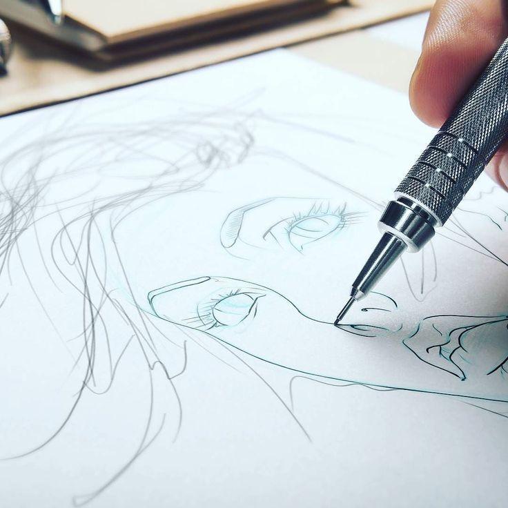 Pre work sketching  #artlife #artworld #artistsofinstagram #artfido#love #picoftheday #geek  #pencildrawing #digitalartist#portait #artworks #artwork#artistoninstagram #newart #sketch #nerd #iloveart #artsy#artoftheday #instaart#shanemadden #illustration #sketchbook #wip #getgood