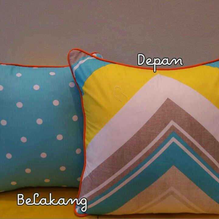 Cushion Cover 40x40cm Rp 70000  Follow IG: tambalsulam