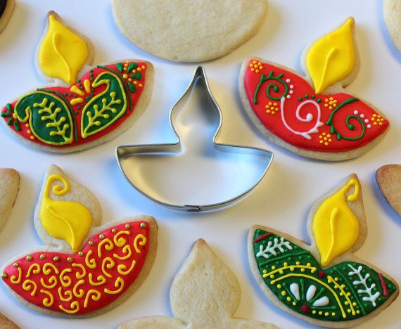 Limited Edition Exclusif Diwali Diya Festival Cookie by TwoDotts, $12.00