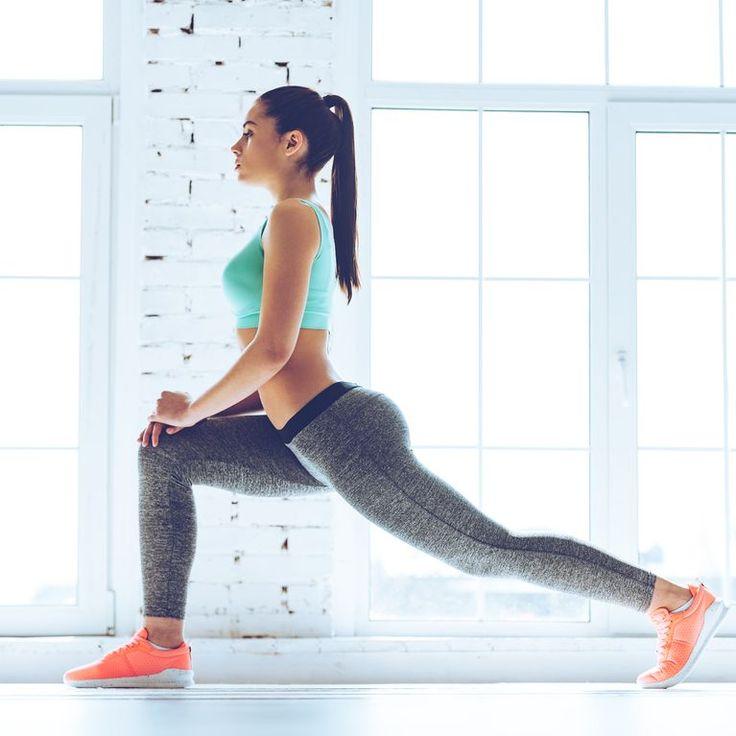 Gesunde Ernährung ist gut, doch für straffe, schlanke Beine braucht ihr Muckis…