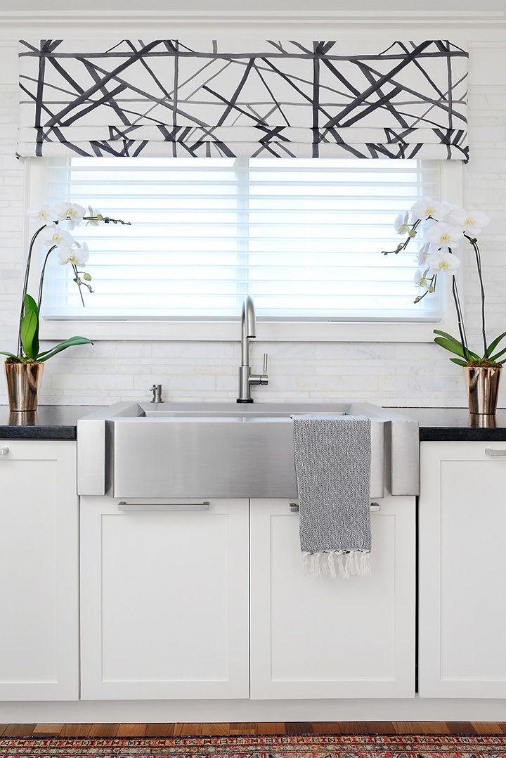 Kitchen Blinds Above Sink Diy