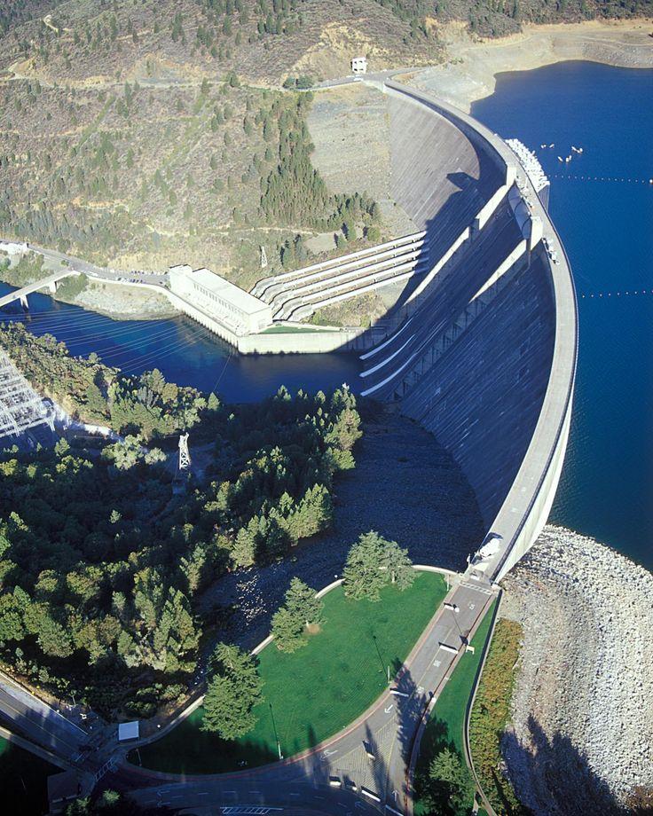 Trinity Dam | Interactive picture of Shasta Dam