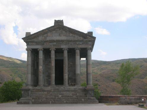Greek Temple in Garni, Armenia