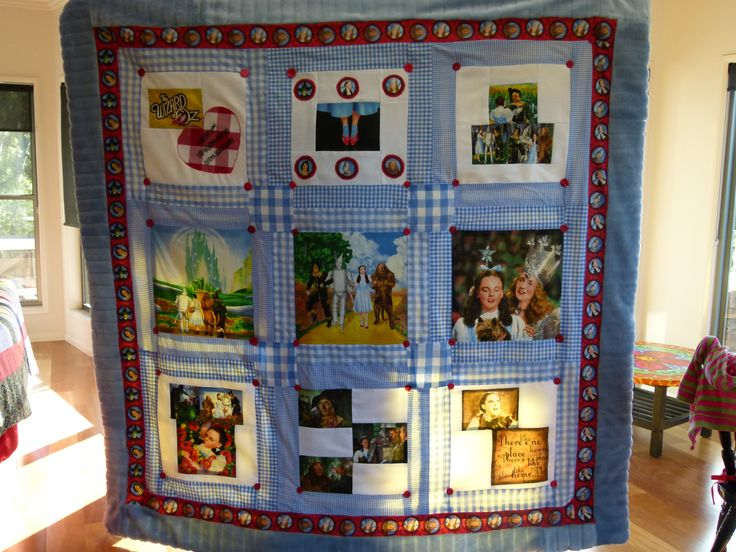 Wizard of Oz quilt for my daughter's 2nd birthday