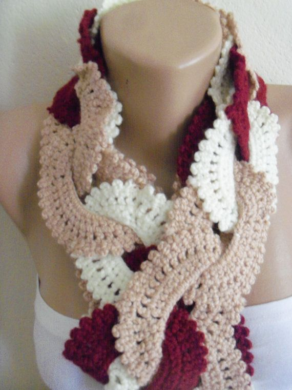 women's stylish  cream brown red   wonderful by colourfulrose, $22.90