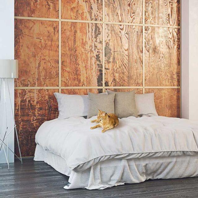 Стеновая деревянная 3D панель Wood tattoo, фото 5