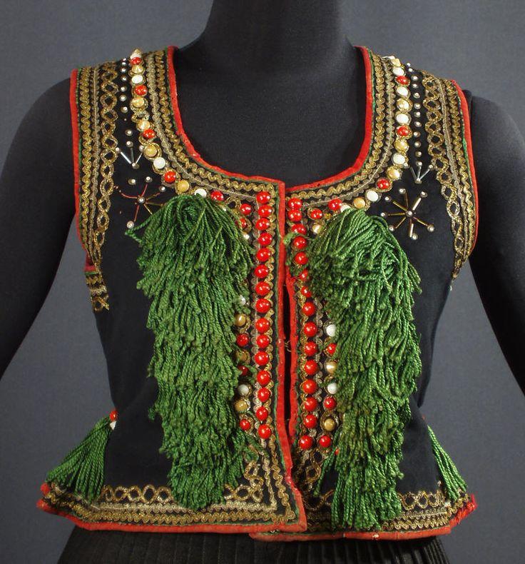 Rare, antique woman's vest from Krakow - ca. 1890s