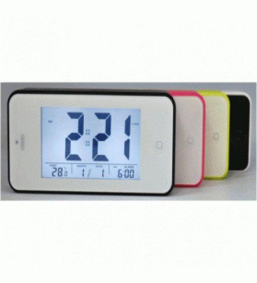 Jual Digital Desktop Smart Clock Touch Buttom - JP9902 - Black Merupakan sebuah jam digital dengan design yang modern dan menarik serta tersedia berbabgai macam warna. Jam ini cocok untuk Anda simpan dikamar Anda dan dapat digunakan sebagai jam waker.  sangat cocok untuk anda letakan di meja kerja anda atau meja belajar anda selain dapat memperindah ruangan anda product ini juga berfungsi sebagai jam waker anda