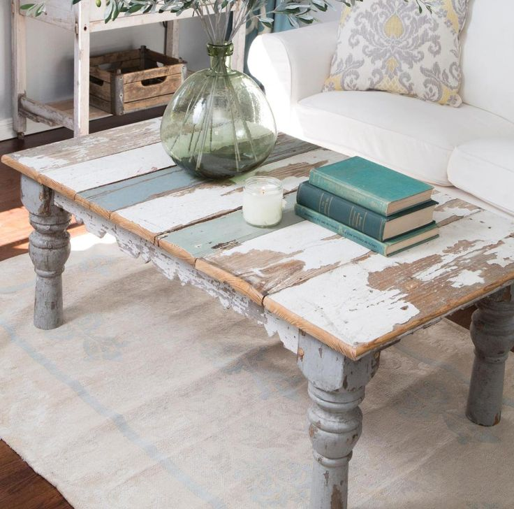 Large Distressed Wood Coffee Table: Best 25+ Antique Coffee Tables Ideas On Pinterest