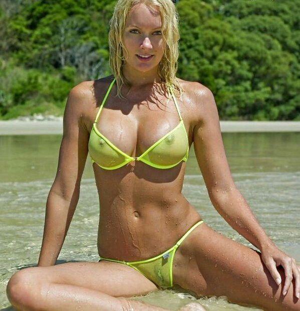 75 best sheer bikinis images on Pinterest