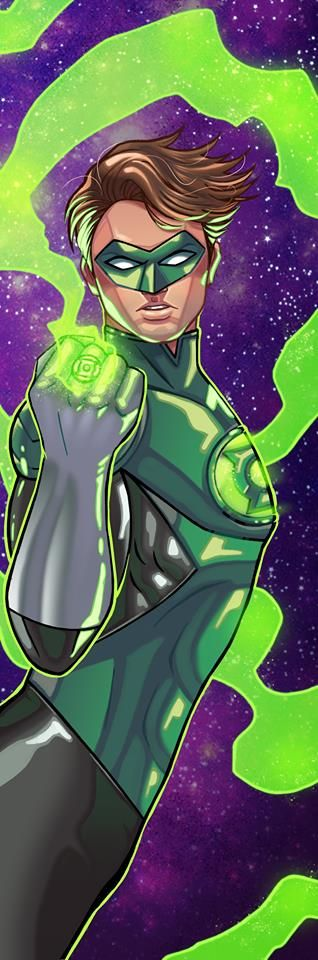 Green Lantern Panel Art by RichBernatovech
