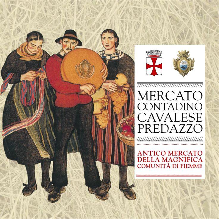 Flyer: Mercato Contadino Committenti: Comune di Cavalese - Comune di Predazzo