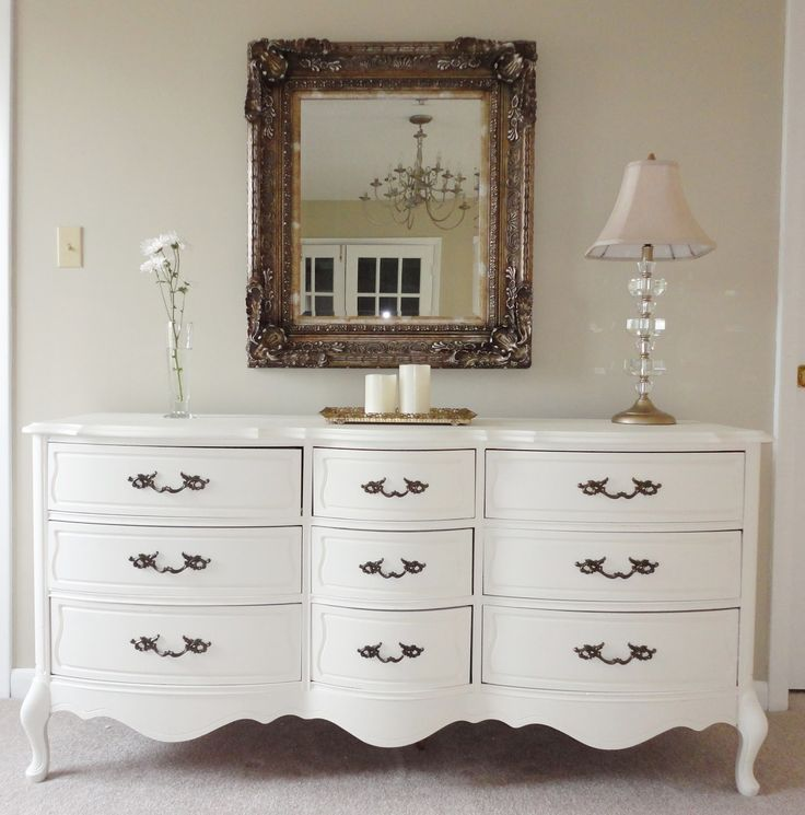 Best French Provincial Makeovers Images On Pinterest Painted