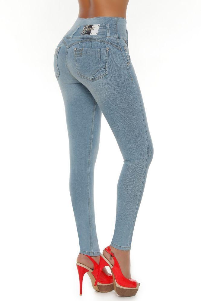 Verox Jeans colombianos butt lifter fajas colombianas jeans levanta cola 1821 #VeroxJeans #SlimSkinny