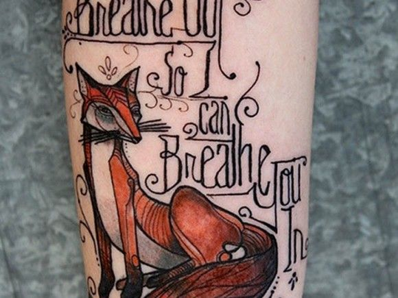 Tags : fox tattoo meaning  fox tattoo designs  fox tattoos