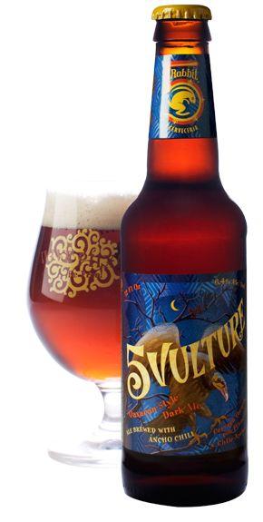 Cerveja 5 Rabbit 5 Vulture, estilo Spice/Herb/Vegetable Beer, produzida por 5 Rabbit Brewery, Estados Unidos. 6.4% ABV de álcool.