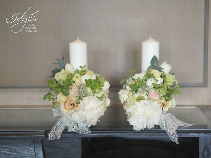 lumanari cununie religioasa nunta | design Idyllic Events | wedding candles with…