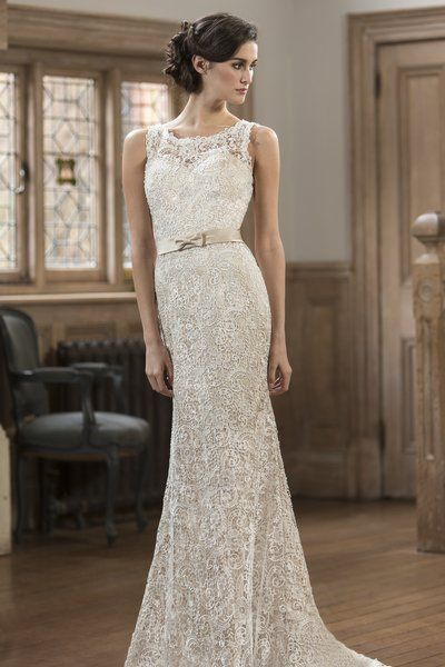 Contemporary Wedding Dresses and Vintage Inspired Bridal Gowns | W143 | True Bride
