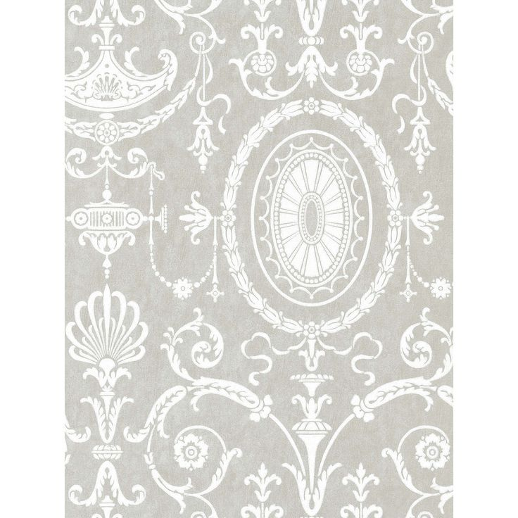 BuyLittle Greene Paint Co. Pall Mall Wallpaper, 0251PMBRUME Online at johnlewis.com