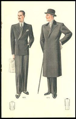 Wykwintne krawiectwo męskie : zima 1935.