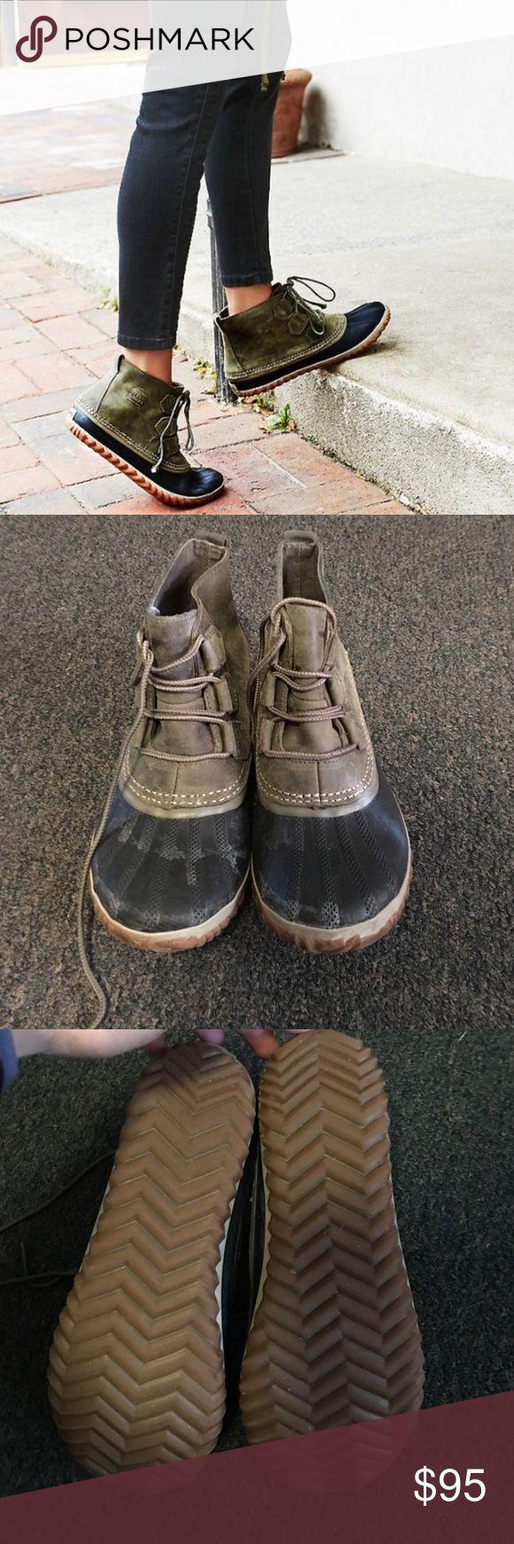 Shortie sorrel boot Only worn twice. Sorel Shoes Winter & Rain Boots