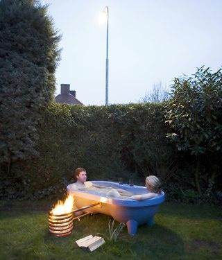 Dutchtub - the wood fired hot tub
