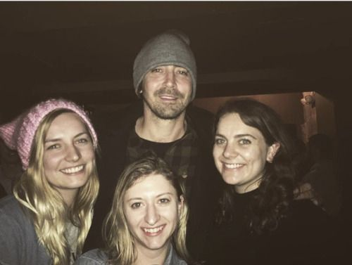 Lee Pace with fans in Washington for #Women'sMarch (January, 21 2017)