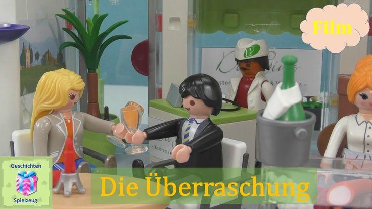 Playmobil Film Deutsch DIE ÜBERRASCHUNG MIT DER LUXUS VILLA ♡ Playmobil ...