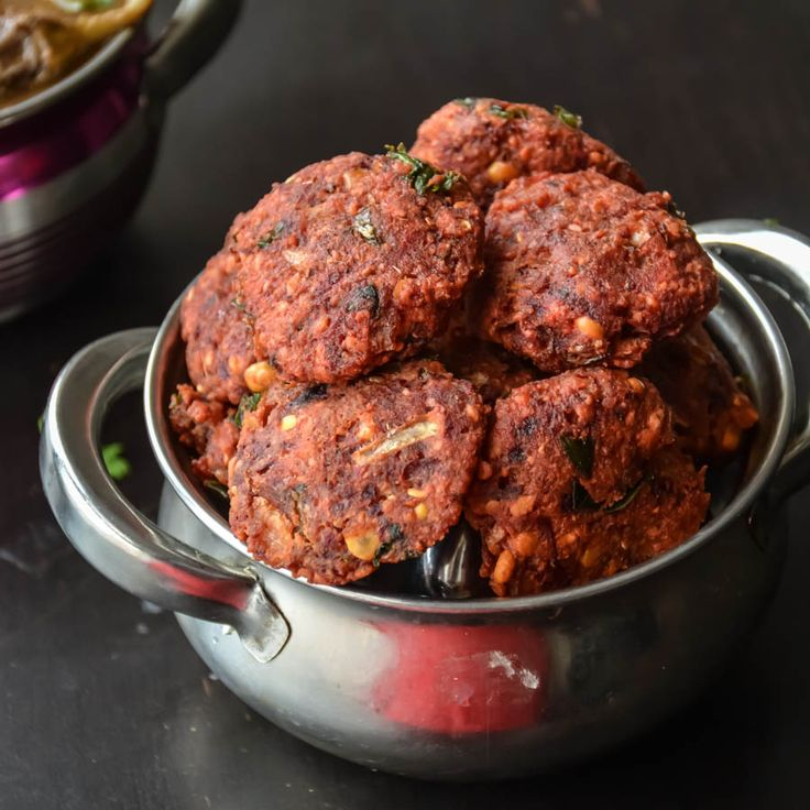 Beetroot vadai / Beetroot Lentil Fritters | Recipe | Spicy ...