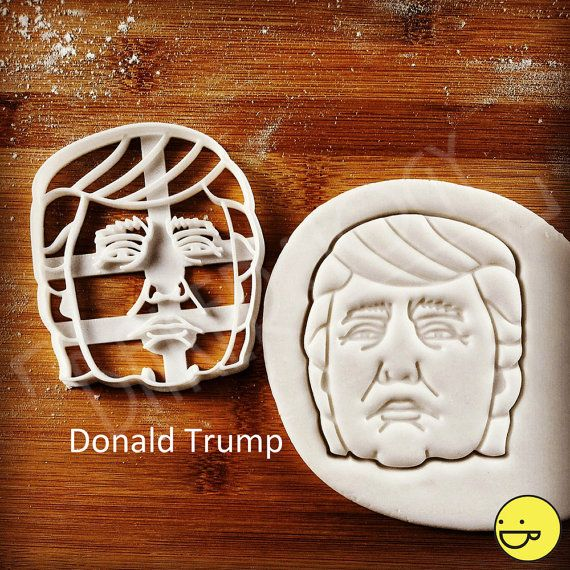 Donald Trump cookie cutter / Hillary Clinton/ Bernie by Bakerlogy