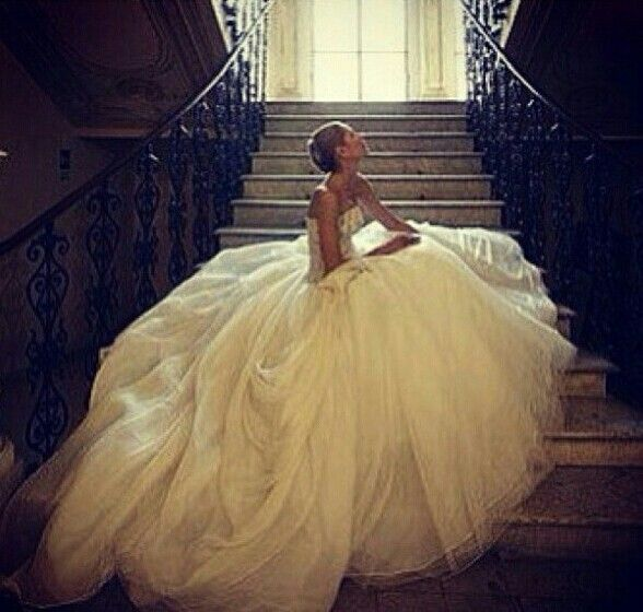 My dreaming wedding dress