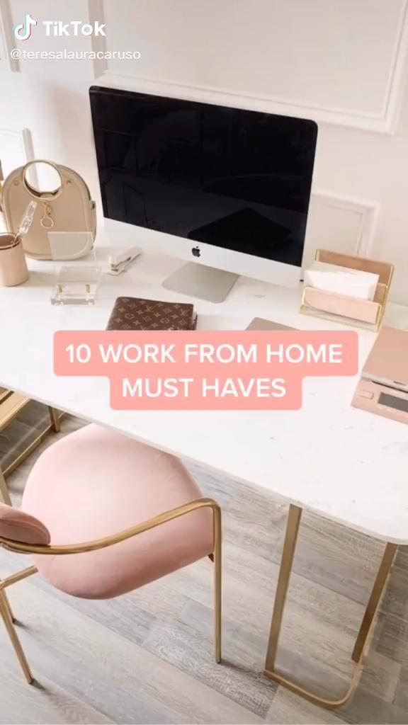 Video 10 Work From Home Must Have Products Di 2020 Ide Dekorasi Kamar Ide Dekorasi Desain