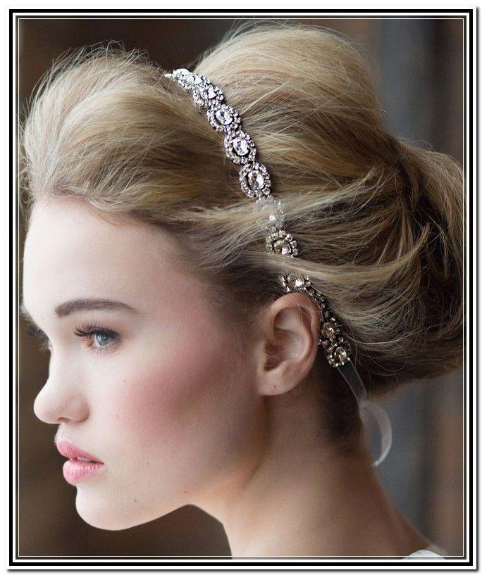 Bridal Updo With Headband