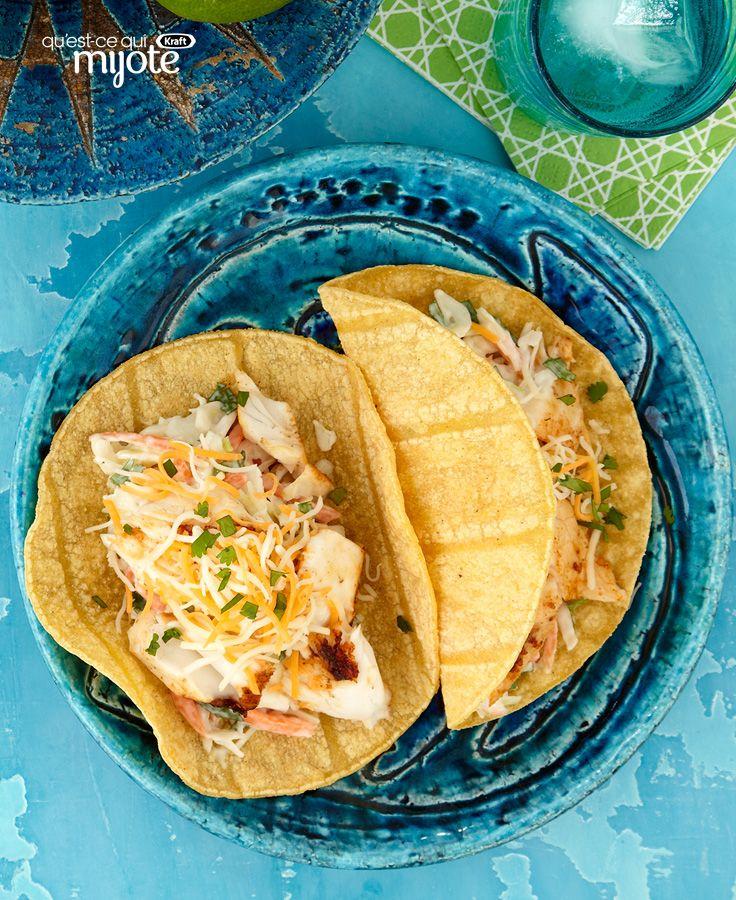 Tacos au poisson de Baja - Petit voyage gastronomique tout près du Mexique... #recette