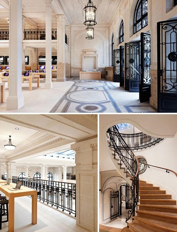 The most beautiful Apple store, Paris Opra