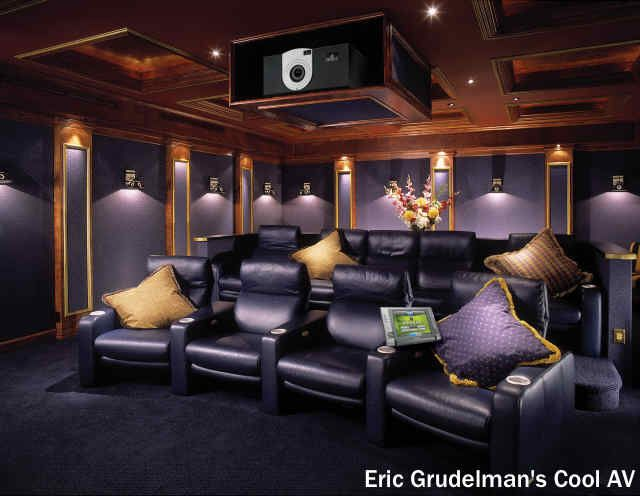 84 best My Future Home Theater images on Pinterest You better love purple if you installed this custom home theater in your  home  See. Custom Home Theater Design. Home Design Ideas